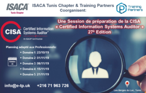 "Formation CISA ""Certified Information Systems Auditor"" pour les Professionnels @ Centre de Formation"
